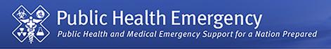 Header for Public Health Emergency website www.phe.gov